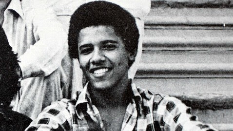 ap Barack obama high school nt 120525 wblog Obama and His Pot Smoking Choom Gang