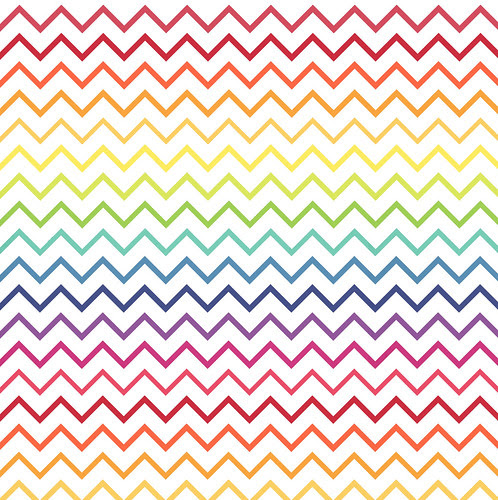 Tight Chevrons Overlay RAINBOW melstampz