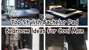 32 Elevation Fashionable Bachelor Pad Sleeping Room Ideas For Cool Men