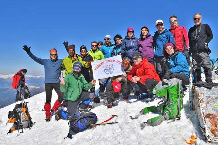 Άρτα: Ο Ορειβατικός Σύλλογος Άρτας στον Σμόλικα
