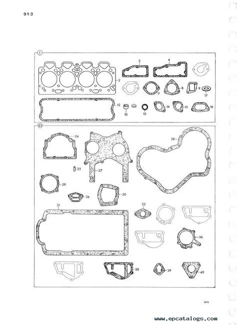 Perkins Diesel Engines 4.248 Parts Manual PDF