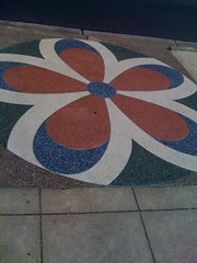 Another sidewalk mosaic