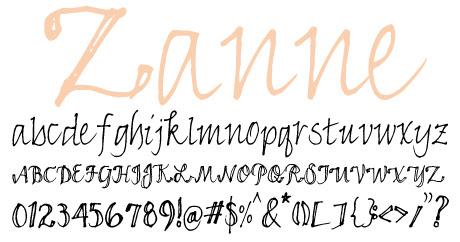 click to download Zanne