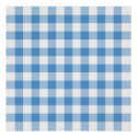 Light Blue and White Gingham Pattern