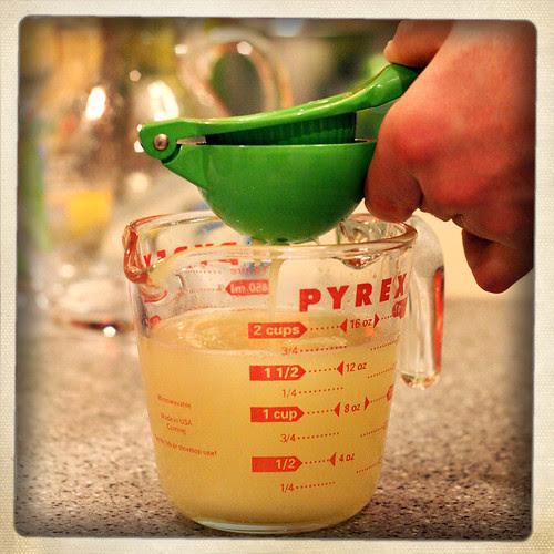 Aaaand... lime juice!