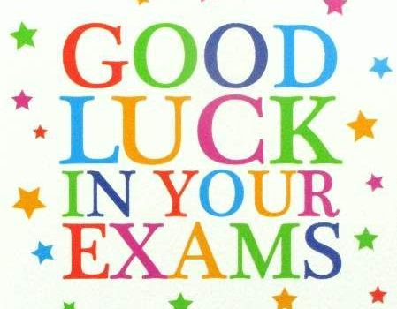 Good Luck In The Exams Castlerea Community School