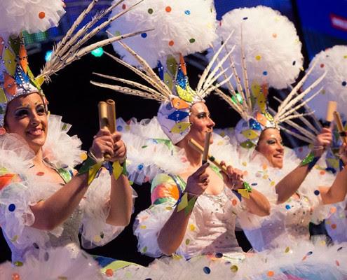 Resultado de imagen de agrupaciones musicales carnaval tenerife
