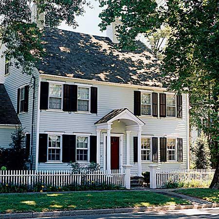 Georgian-style house in Fairfield, Connecticut
