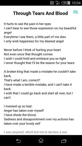 Through Blood And Tears Asgore And Toriels Poem Undertale Amino