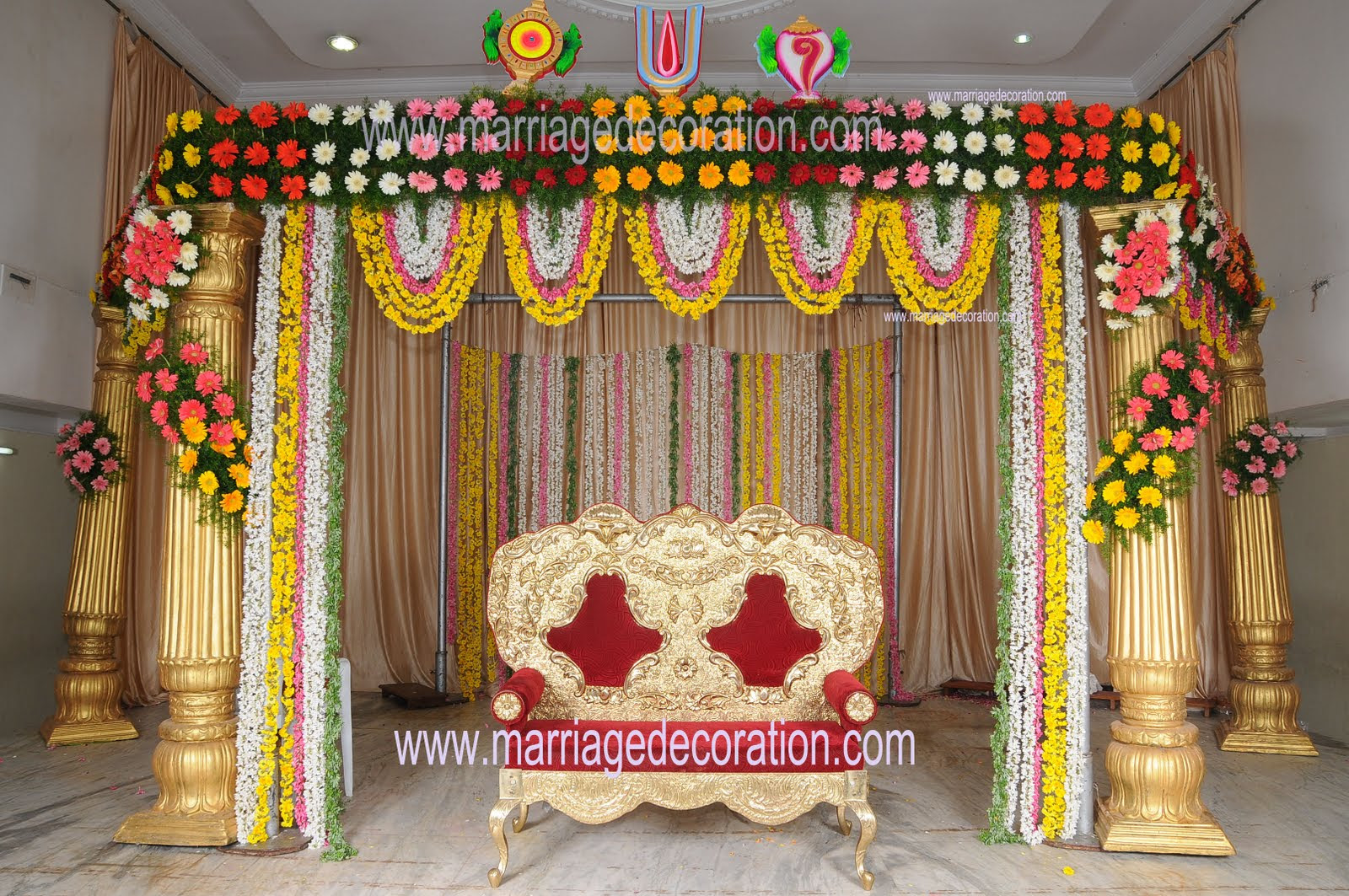 Simple Indian Wedding Decorations