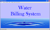 Water Billing System (VB.Net)