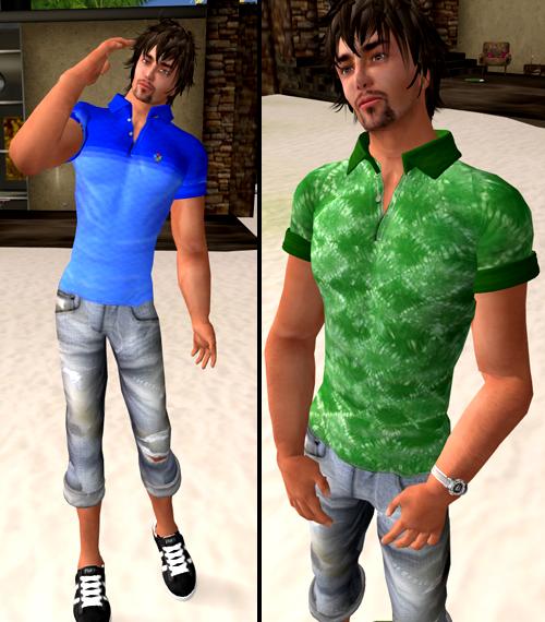 Shiki designs polo shirt