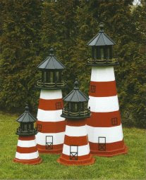 Outdoor Home Center - Lawn Decor - Lighthouses