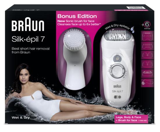 Braun Silk·épil 7 Bonus Edition