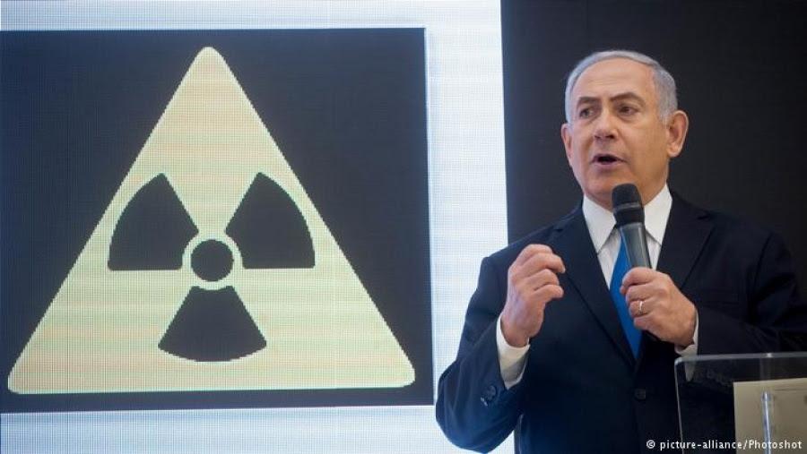 Ο Netanyahu κατηγορεί το Ιράν ότι κρύβει πυρηνικό υλικό σε μια αποθήκη στην Τεχεράνη