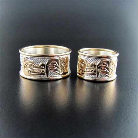 Native Wedding Bands or Engagement Rings by Carmen