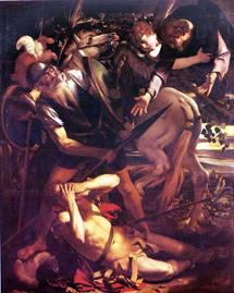 'La Conversión de Saulo', de Caravaggio