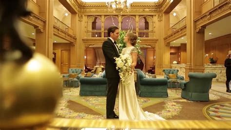 Fairmont Olympic Hotel   2017 Wedding Trends with Andrew