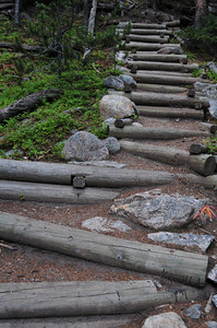 the stairway to La Plata Peak