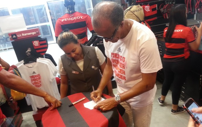 Jayme de Almeida técnico Flamengo (Foto: Diego Rodrigues)