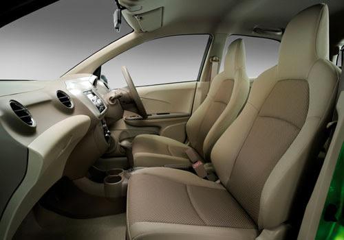 Honda Brio Front Seats