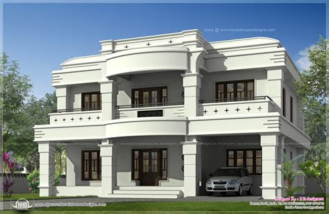 double storied luxury home exterior kerala design floor