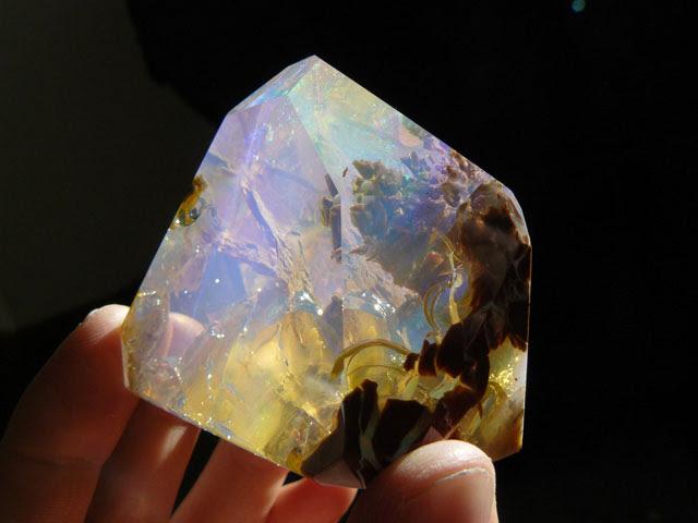 océan à l'intérieur d'une opale Oregon butte (6)
