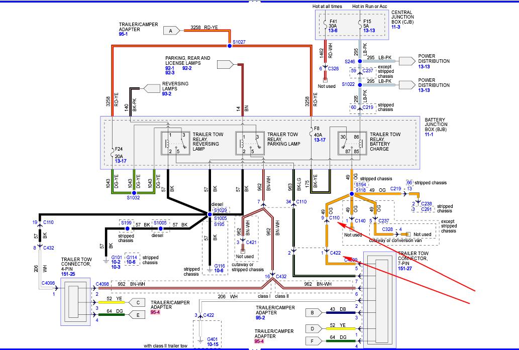 2006 Ford E350 Trailer Wiring Diagram Wiring Diagrams Deliver Deliver Miglioribanche It