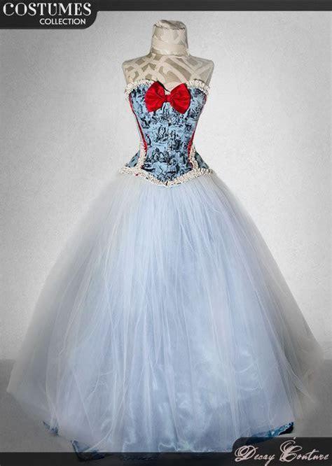 ALICE IN WONDERLAND wedding dress winter wonderland alice