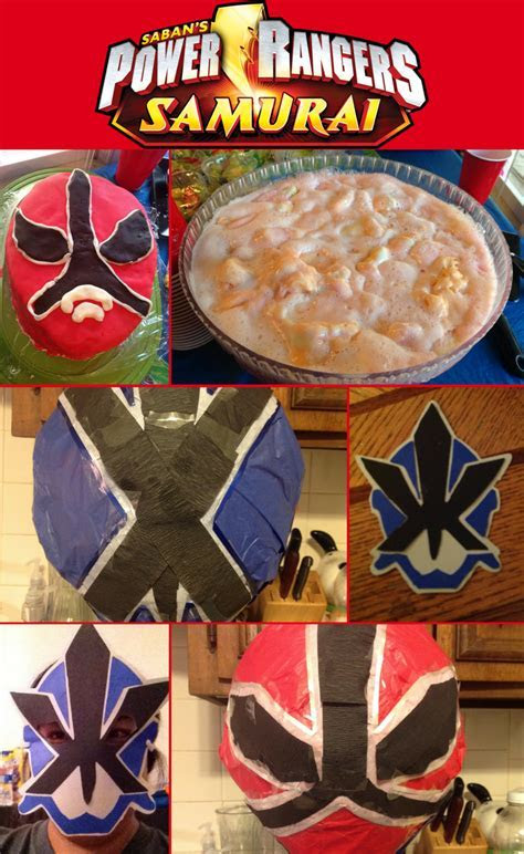 Power Rangers Samurai Party Ideas