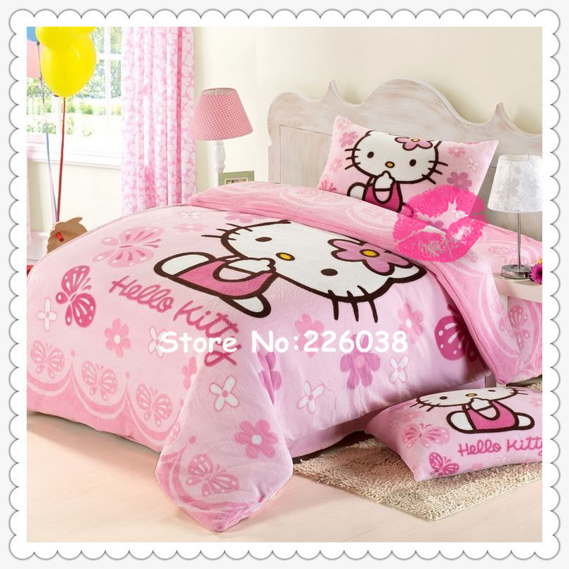 Free Shipping EMS!!Children Baby Bedding Sets/Cute Girl's Coral ...
