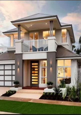 25 Gambar Rumah Minimalis 2 Lantai Modern Terbaru Desain Rumah Minimalis
