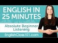 English Listening Comprehension for Absolute Beginners