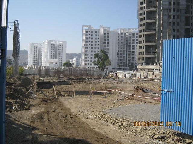 Rohan Leher - Foundation of BU Bhandari Landmark's Alacrity 2 BHK 3 BHK Flats Baner Pune