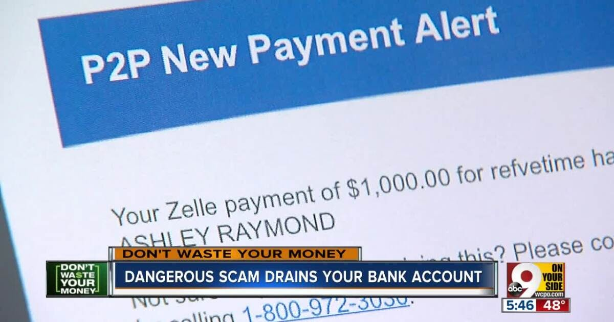 Don 039 T Waste Your Money How Scammers Use Zelle To Drain Your Bank Account John Matarese Wcpo