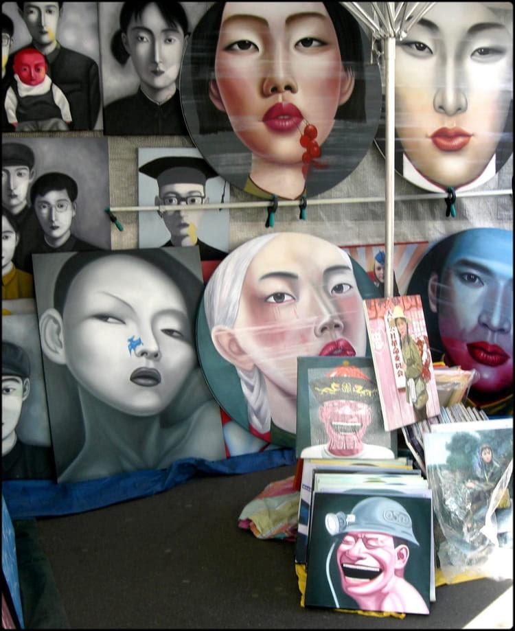 Peinture Chinoise Contemporaine Par Yvette Gogue Sur Linternaute