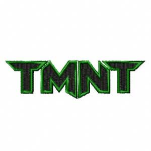 Teenage Mutant Ninja Turtles Logo Machine Embroidery Design