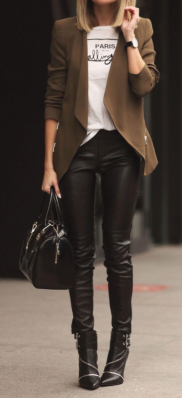 Taupe + black.