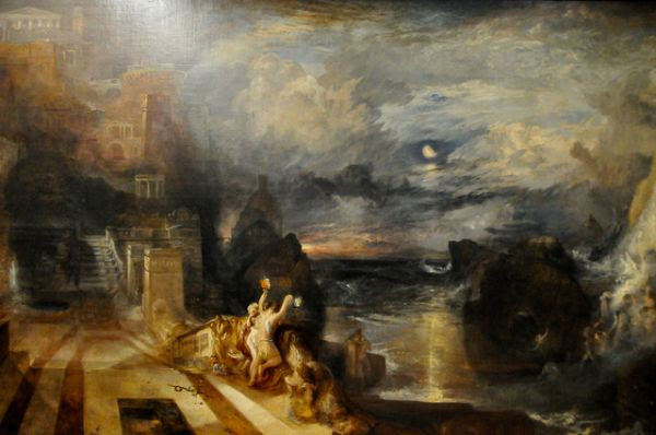 Image result for jmw turner hero and leander
