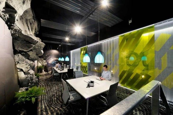 oficina futuristica