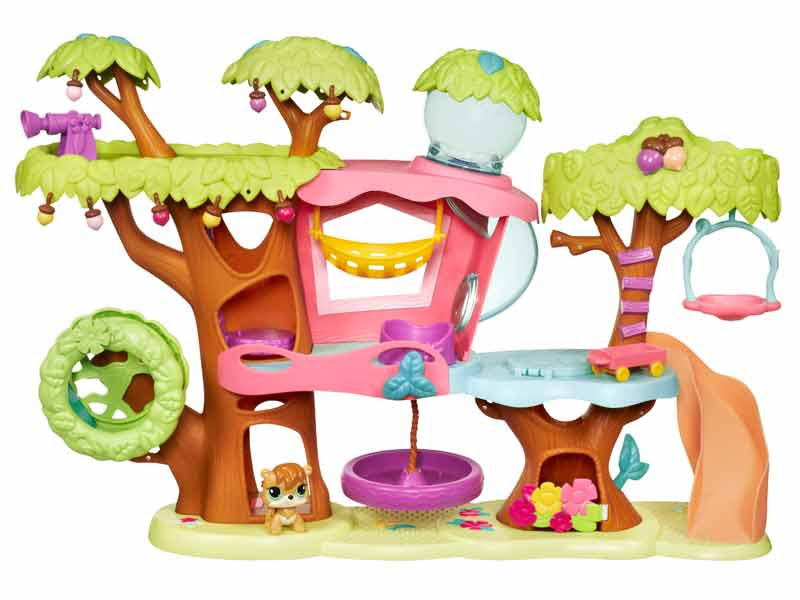 Amazon.com: Littlest Pet Shop Treehouse Playset: Toys & Games