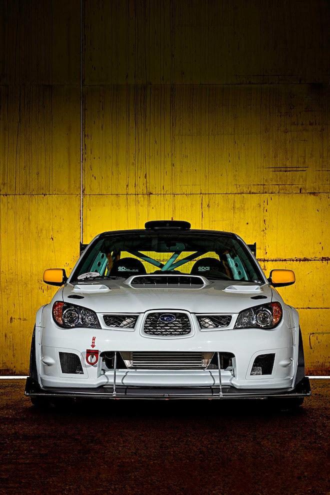 2006 Subaru Wrx Sti Rolled To Resurrection