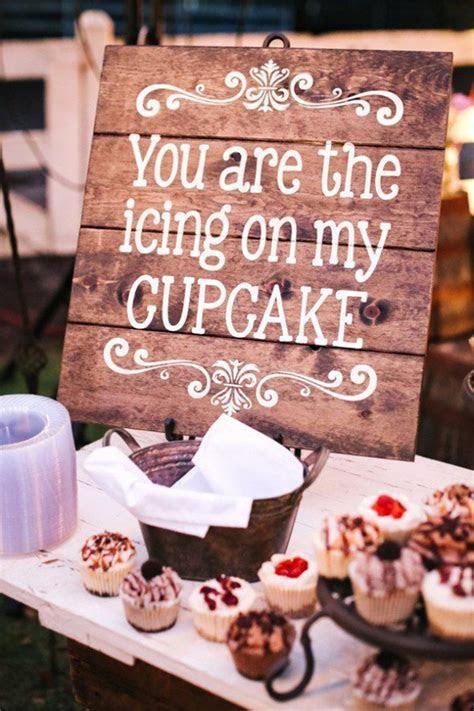 fall wedding cupcake dessert table ideas   Tulle