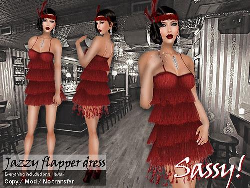 Vintage Fair - Jazzy dress in red