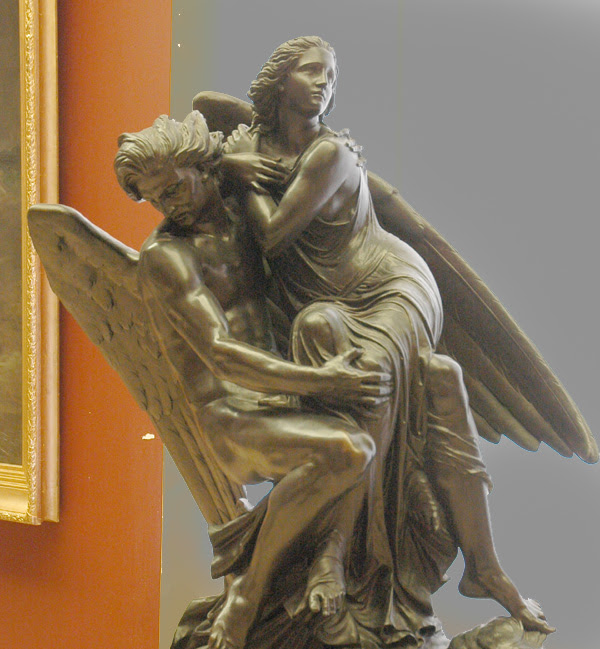 Eloa, soeur des anges. Joseph Michel Ange Pollet.
