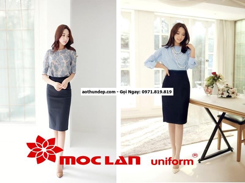 mẫu đồng phục công sở đẹp 2016