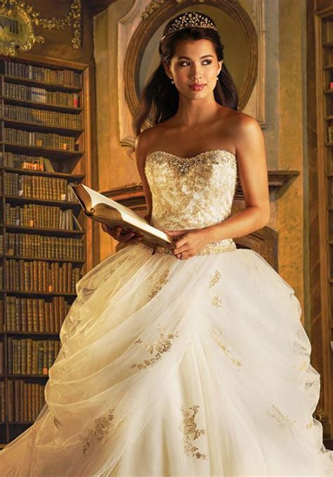 Disney Fairy Tale Weddings by Alfred Angelo 254 Belle