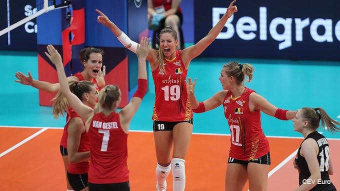 Onze nationale volleybalvrouwen spelen het WK, de mannen niet