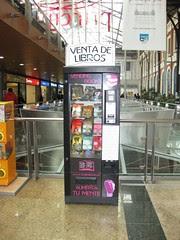 Book Vending Machine in Spain