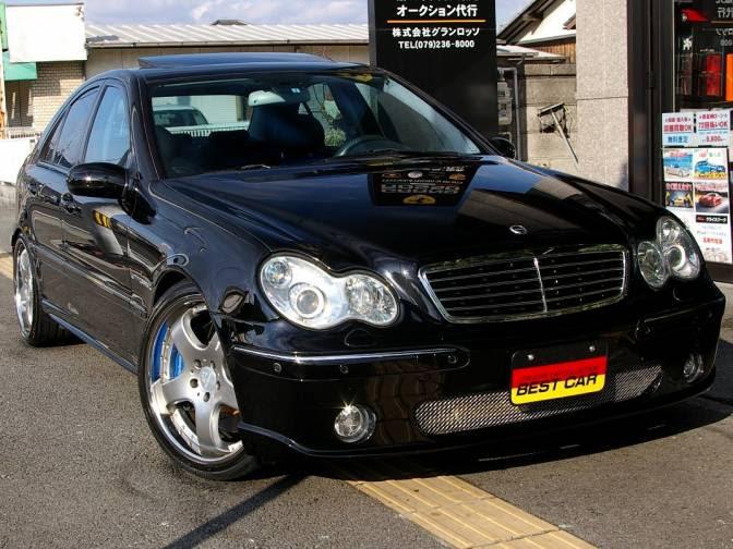 2001\/10 MercedesBenz C320 203064 Carlsson CM32K for sale, Japanese used cars details  CarPriceNet